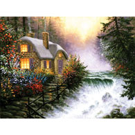 River's Edge 300 Large Piece Jigsaw Puzzle