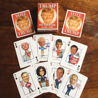 Donald Trump - Political Playing Cards