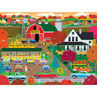 Autumn Harvest 300 Large Piece Jigsaw Puzzle