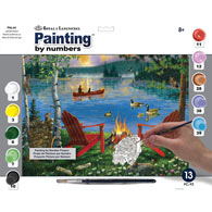 Painting by Numbers Summer Kit - Lakeside Retreat
