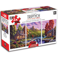 Mountain Cabin 3 in 1 Multipack Triptych Set