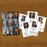 The Presidents Playing Cards