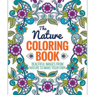 Nature Advanced Coloring Book