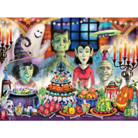 Monster Banquet 550 Piece Jigsaw Puzzle