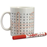 Word Search Puzzle Mug
