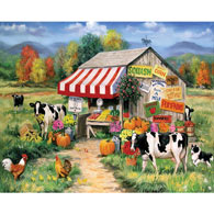 Self Serve with Awning 1000 Piece Jigsaw Puzzle