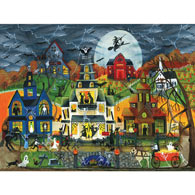 Spooky Street 300 Large Piece Jigsaw Puzzle