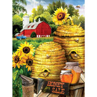 Bee Farm 300 Large Piece Jigsaw Puzzle
