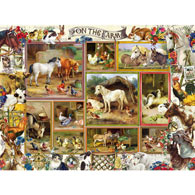 On the Farm 300 Large Piece Jigsaw Puzzle