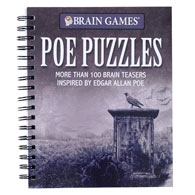 True Crime Poe Puzzle Book