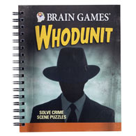 True Crime Whodunit Puzzle Book