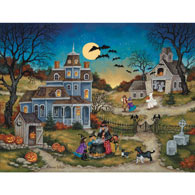 Three Little Witches 300 Large Piece Jigsaw Puzzle