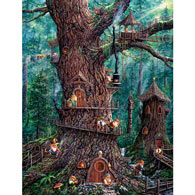Forest Gnomes 1000 Piece Jigsaw Puzzle