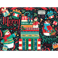 Snowman Gifts 300 Large Piece Jigsaw Puzzle