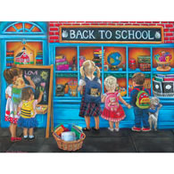 Back to School 300 Large Piece Jigsaw Puzzle