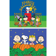 Set of 2: Halloween Peanuts® 100 Piece Jigsaw Puzzles