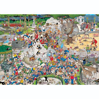 The Zoo 1000 Piece Jigsaw Puzzle
