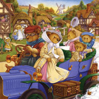 A Drive in the Country 300 Large Piece Jigsaw Puzzle