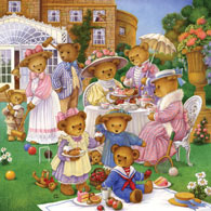 The Tea Party 300 Large Piece Jigsaw Puzzle