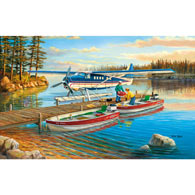 Pickle Lake 550 Piece Jigsaw Puzzle