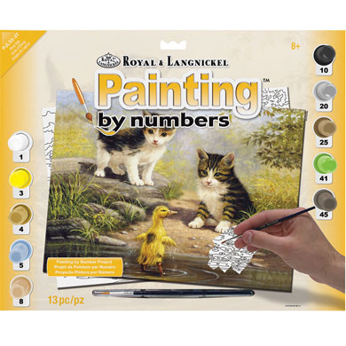 Pond Pals - Paint by Numbers Kit