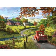 The Country Drive 1000 Piece Jigsaw Puzzle
