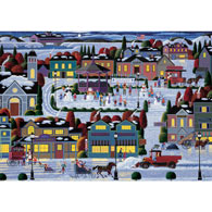 Best of Snow 300 Large Piece Nostalgia Jigsaw Puzzle