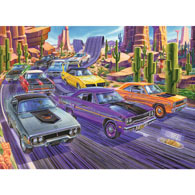 Mountain Duel 300 Large Piece Jigsaw Puzzle