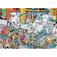 Candy Factory 1000 Piece Jigsaw Puzzle