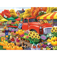 Marketplace 300 Large Piece Jigsaw Puzzle