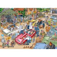 Paying the Price 1000 Piece Wasgij Jigsaw Puzzle