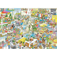 The Holiday Fair 1000 Piece Jigsaw Puzzle