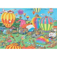 The Balloon Festival 2000 Piece Jigsaw Puzzle