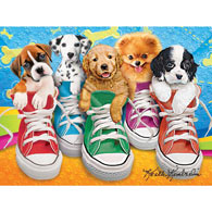 Sneaky Pups 350 Large Piece Jigsaw Puzzle