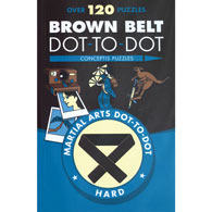 Karate Dot-to-Dot Books - Brown Belt