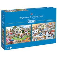 Wigwams and Woolly Hats 2 in 1 Multipack Set