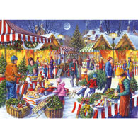 Christmas Fayre 1000 Piece Jigsaw Puzzle