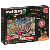 The Big Turn On Christmas Wasgij 2 in 1 Multipack Set