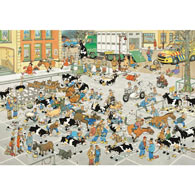 The Cattle Market 2000 Piece Jigsaw Puzzle