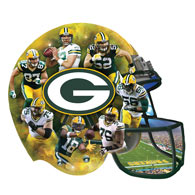 Packers 500 Piece Shaped Jigsaw Puzzle