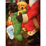 From Santa 500 Piece Jigsaw Puzzle