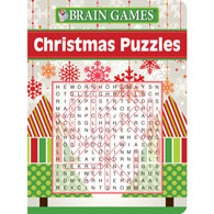 Christmas Puzzles Word Search Book