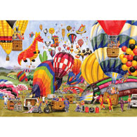 Balloon Landing 300 Large Piece Jigsaw Puzzle