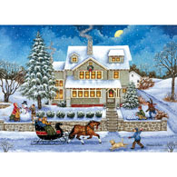 Snow Balled 1000 Piece Jigsaw Puzzle