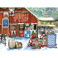 Holiday Quilts 1000 Piece Jigsaw Puzzle