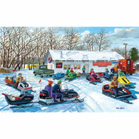 Red Lake Rendezvous 300 Large Piece Jigsaw Puzzle