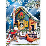 Holiday Visitors 300 Large Piece Jigsaw Puzzle