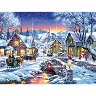 Tinsel Town 300 Large Piece Jigsaw Puzzle