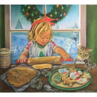 Christmas Cookies 300 Large Piece Jigsaw Puzzle