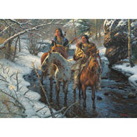 Creek Crossing 1000 Piece Jigsaw Puzzle